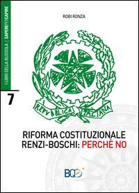 Riforma costituzionale Renzi-Boschi