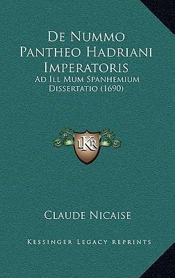 de Nummo Pantheo Hadriani Imperatoris