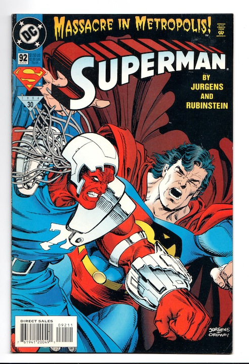 Superman, Vol. 2 #92