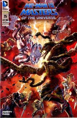 He-Man and the Masters of the Universe #25