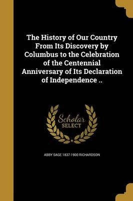 HIST OF OUR COUNTRY FROM ITS D