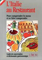 L'italie au restaurant
