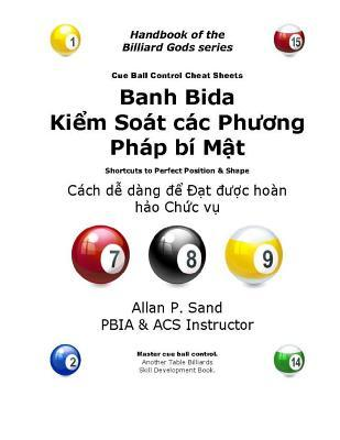 Cue Ball Control Cheat Sheets (Vietnamese)