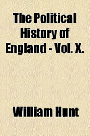 The Political History of England