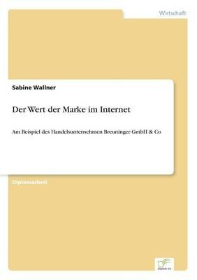 Der Wert der Marke im Internet