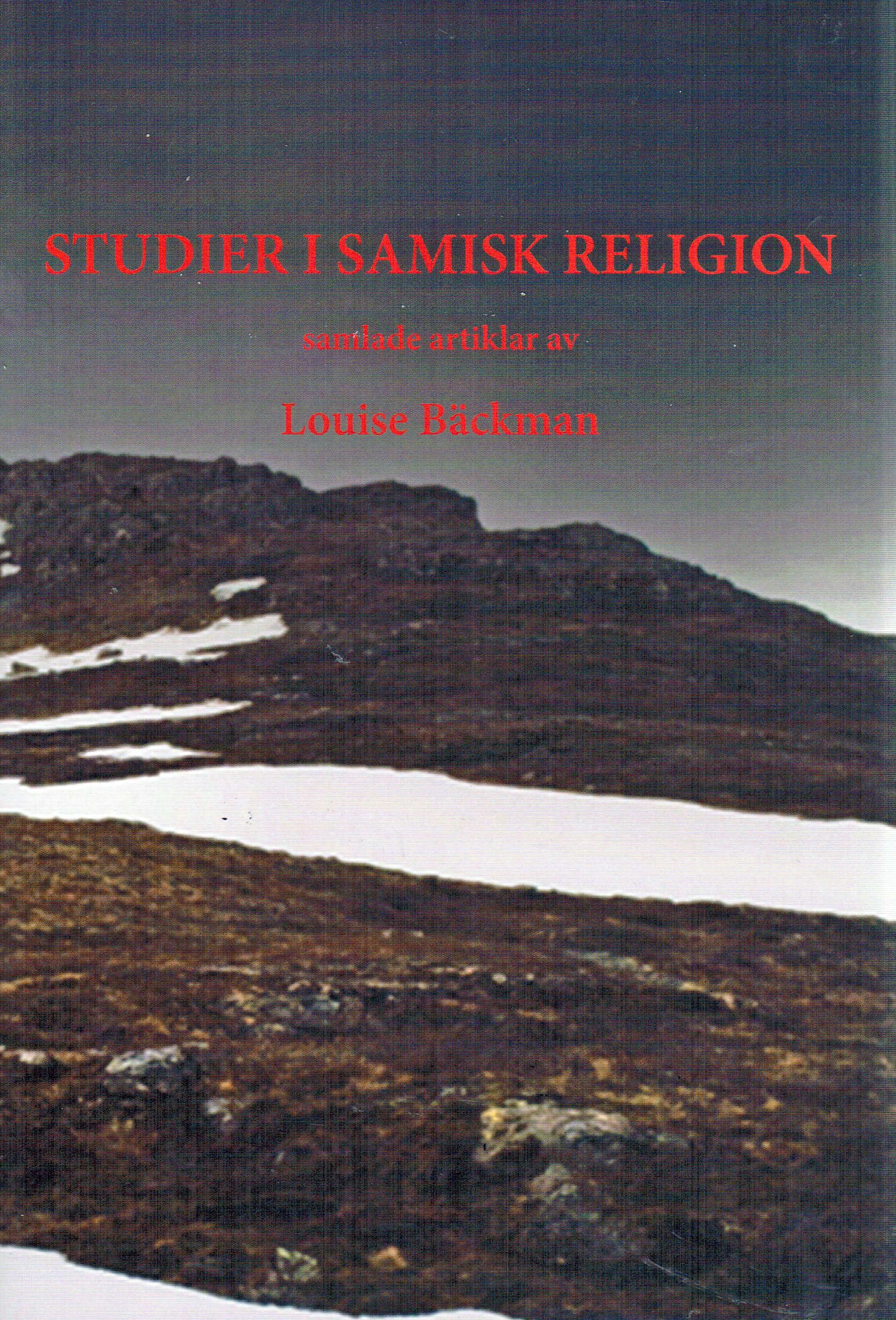 Studier i samisk religion