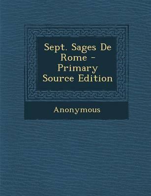 Sept. Sages de Rome