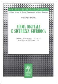 Firma digitale e sicurezza giuridica
