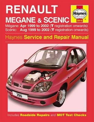 Renault Megane & Scenic Petrol & Diesel (Apr 99 - 02) Haynes Repair Manual