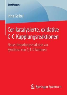 Cer-katalysierte, Oxidative C-c-kupplungsreaktionen