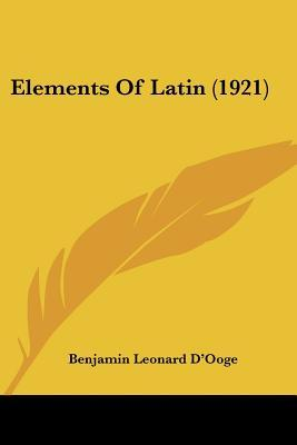 Elements of Latin (1921)
