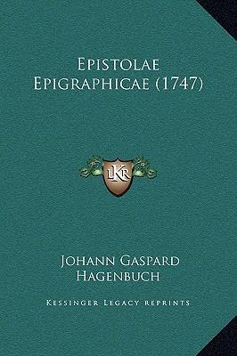 Epistolae Epigraphic...