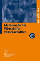 Mathematik Fa1/4r Wirtschaftswissenschaftler