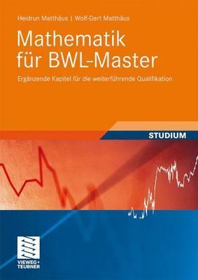 Mathematik fur BWL-Master