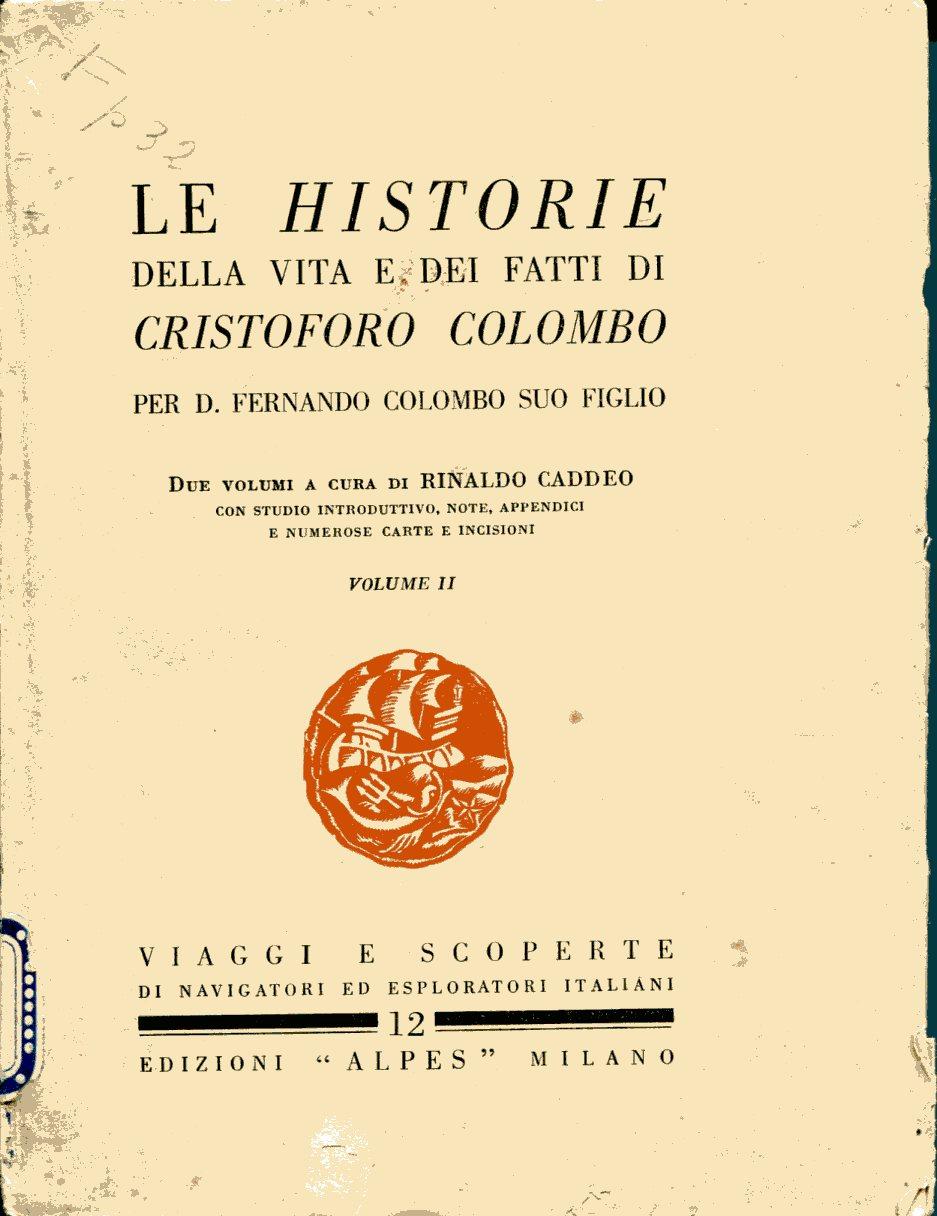 Le Historie della vita e dei fatti di Cristoforo Colombo - vol. 2