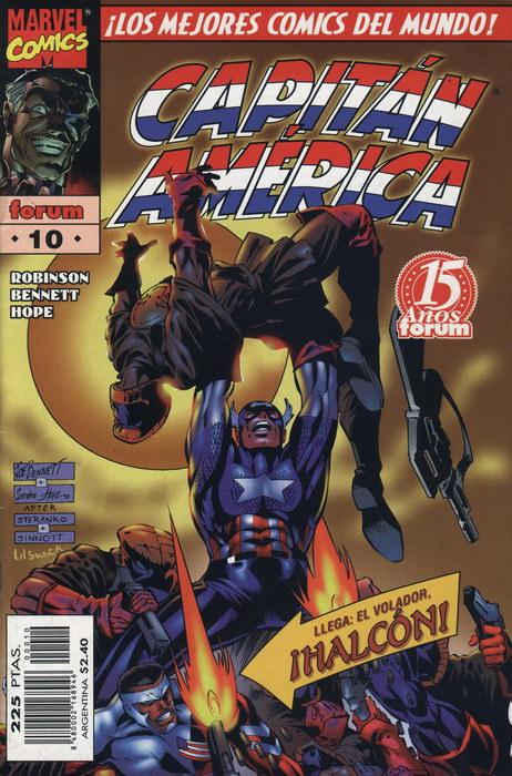 Heroes Reborn: Capitán América Vol.1 #10 (de 12)