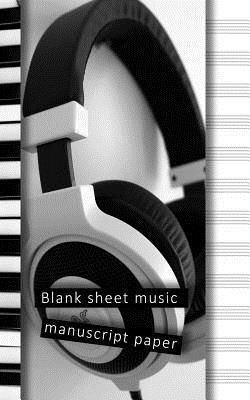 Blank sheet music manuscript paper