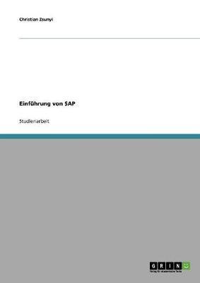 Einführung von SAP
