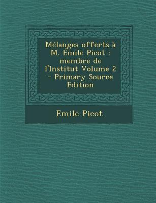 Melanges Offerts A M...