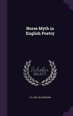 Norse Myth in English Poetry