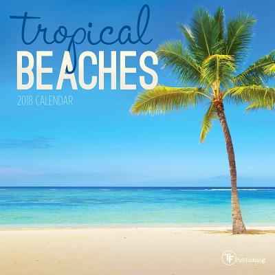 Tropical Beaches 2018 Calendar