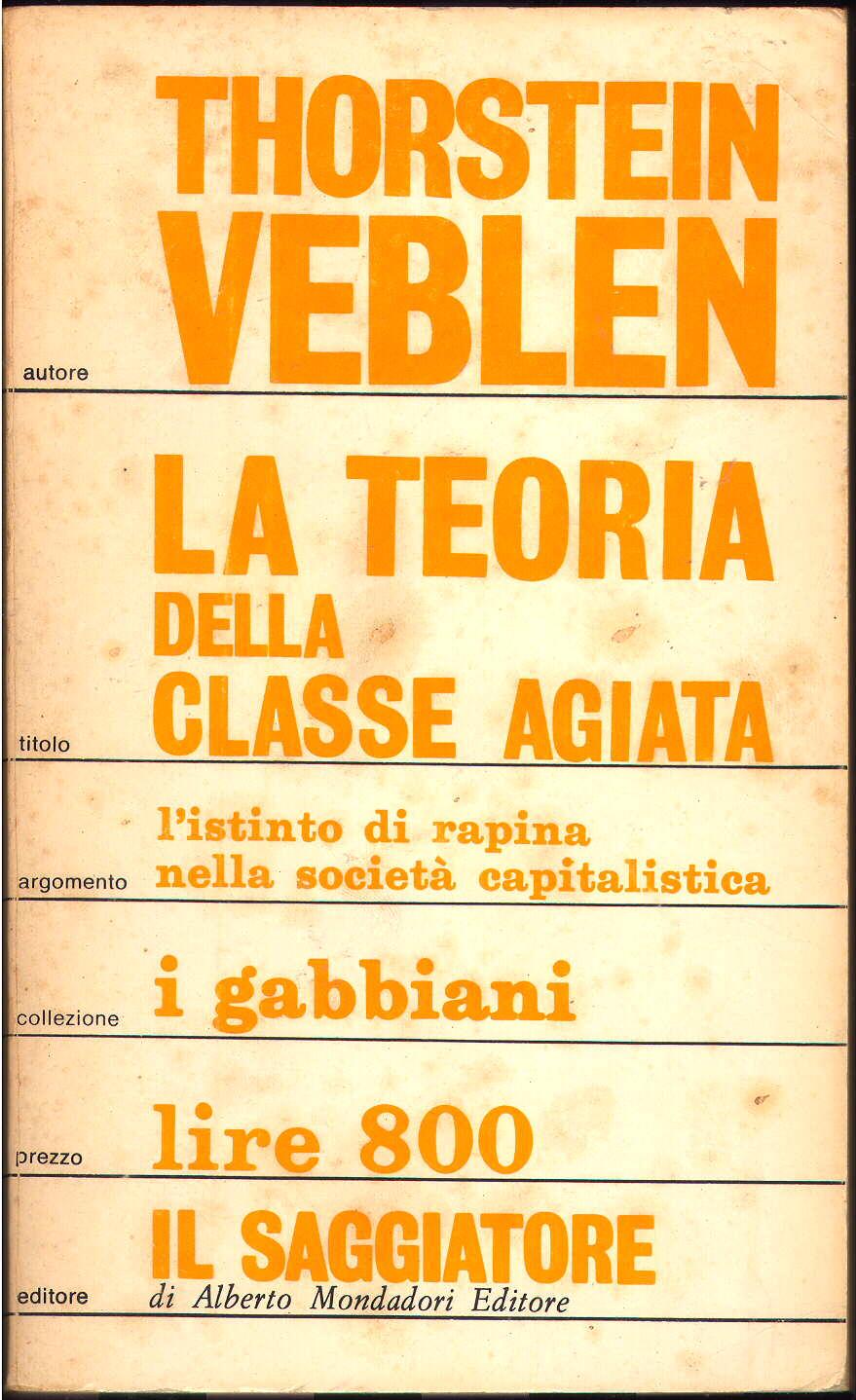 Teoria della classe agiata