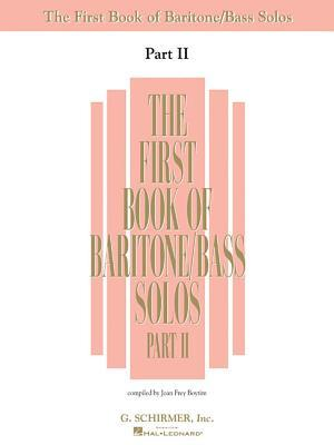 First Book of Baritone Bass Solos