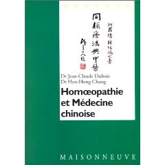 Homoeopathie et médecine chinoise