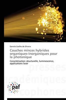 Couches Minces Hybrides Organiques-Inorganiques pour la Photonique