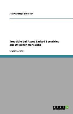 True Sale bei Asset Backed Securities aus Unternehmenssicht