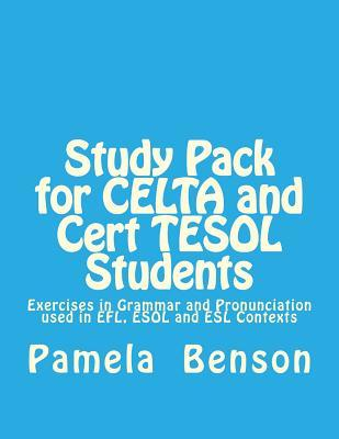 Study Pack for Celta and Cert Tesol Students