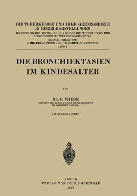 Die Bronchiektasien Im Kindesalter