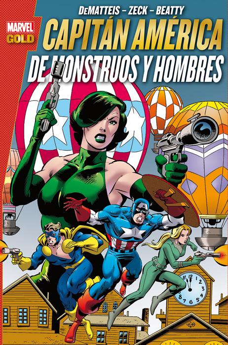 Marvel Gold. Capitán América: De monstruos y hombres