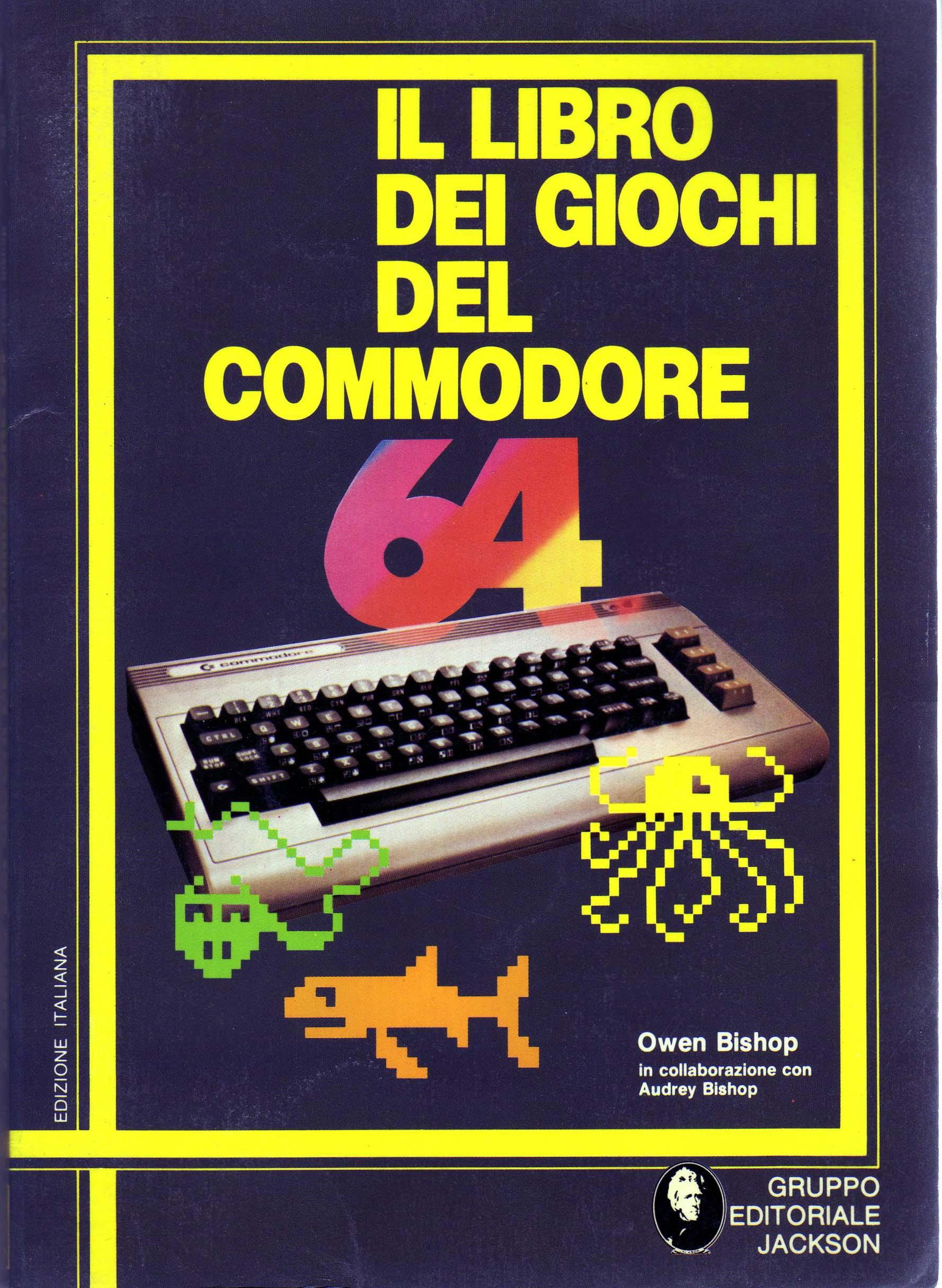 Il libro dei giochi del Commodore 64
