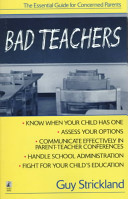 Bad teachers