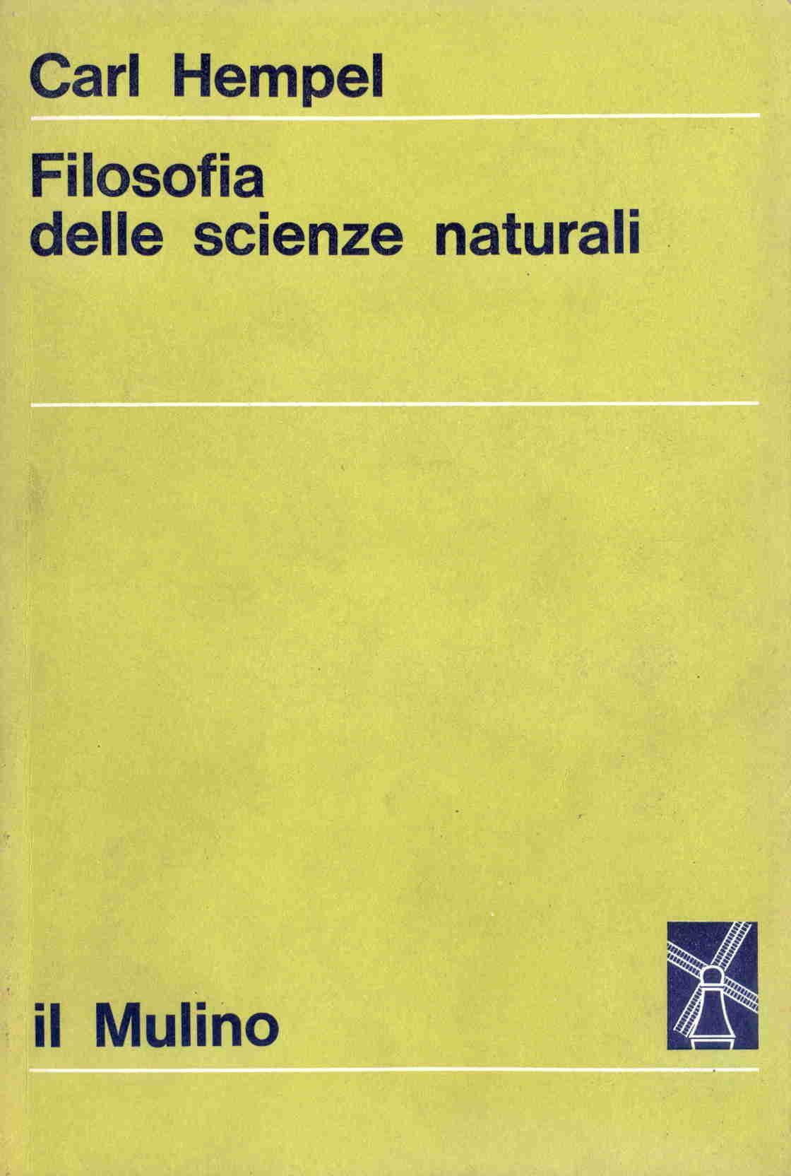 Filosofia delle scienze naturali