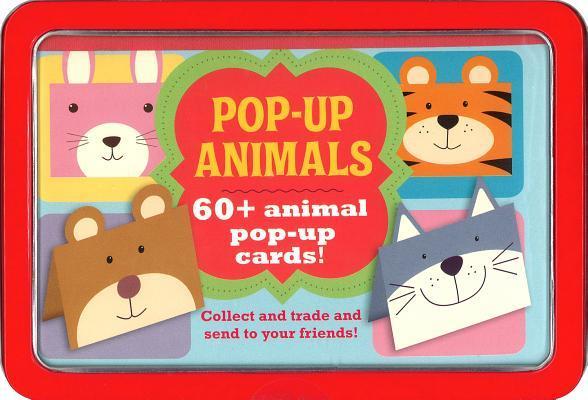 Pop-up Animals Mini Tin