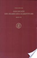 Geschichte des arabischen Schrifttums