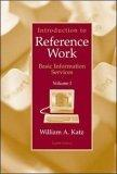 Introduction to Reference Work: v. 1