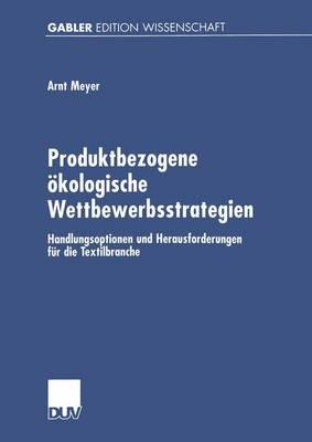 Produktbezogene Okologische Wettbewerbsstrategien