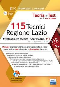 115 Tecnici Regione ...