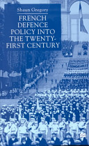 French defence policy into the twenty-first century