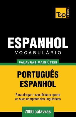 Vocabulário Português-Espanhol - 7000 palavras mais úteis