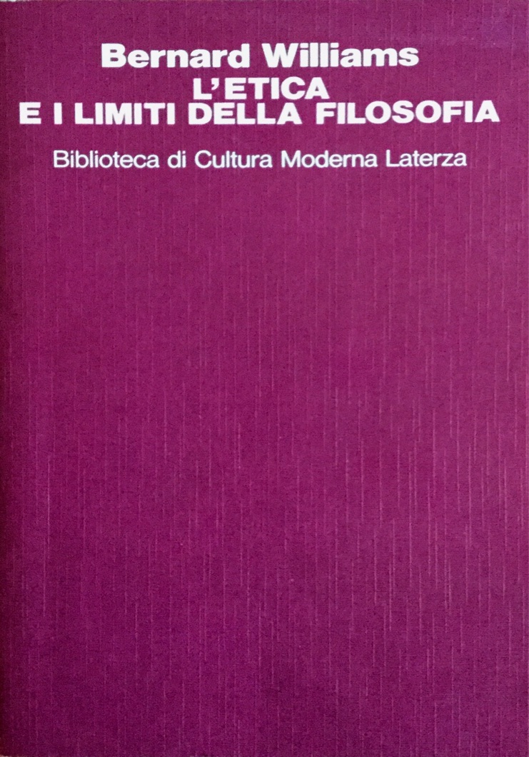L' etica e i limiti della filosofia