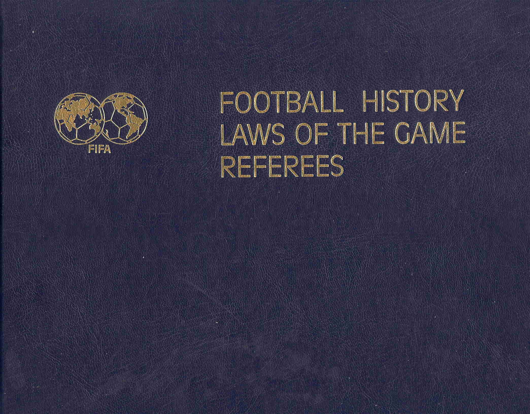 Football history - Laws of the game - Referees
