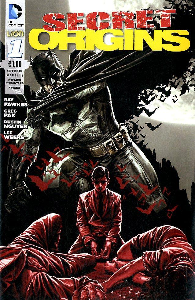 Secret Origins #1 Cover B