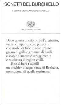 I sonetti del Burchiello