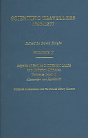 Scientific Travellers, 1790-1877: Aspects of nature