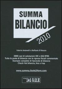 Summa bilancio 2010