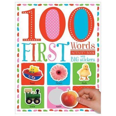 100 First Words Sticker Activity Book